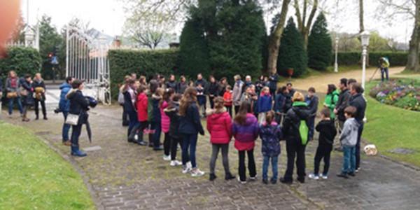 Eskola bidea Aieten