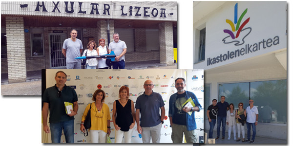 Nos visita un grupo de profesores portugueses