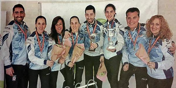 Axun Manterola Espainiako curling txapelduna