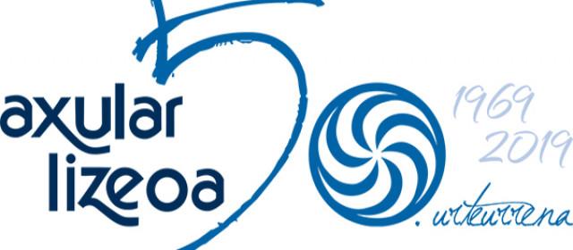 50 urteurrenaren logotipoa