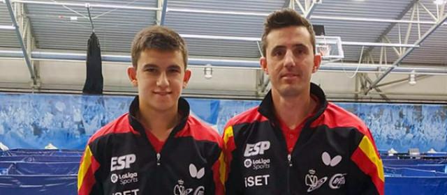 Ander Cepas con José Manuel Ruiz