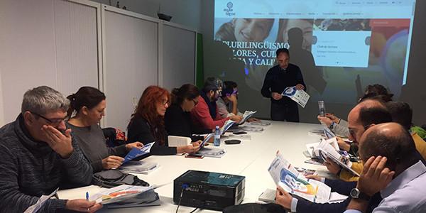Visita de educadores andaluces