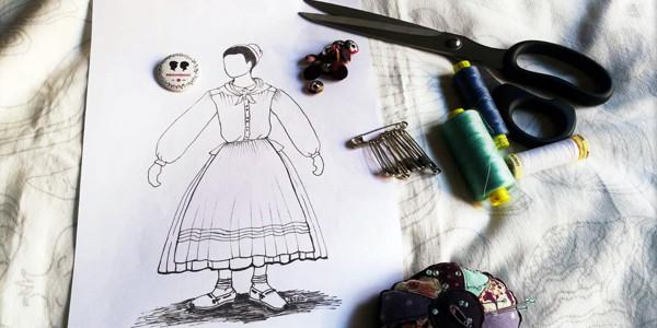 Cómo diseñar y coser el traje tradicional vasco