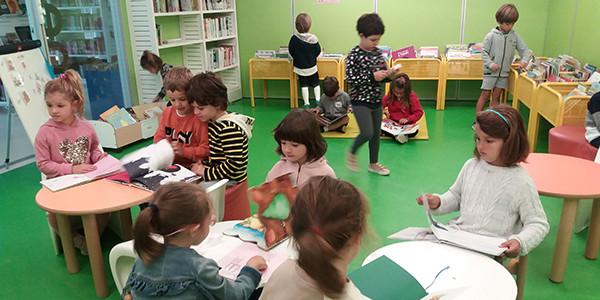 Los más pequeños en la biblioteca
