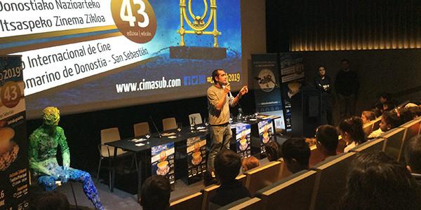 En el Ciclo Internacional de Cine Submarino